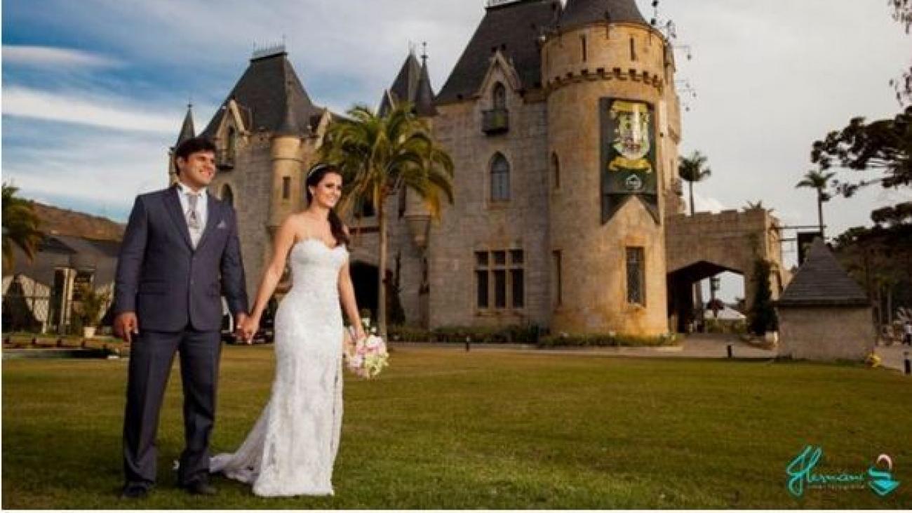Casamentos de dia em um Castelo original na Serra