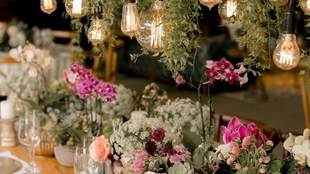Festa de casamento: inspirações de mesas para convidados