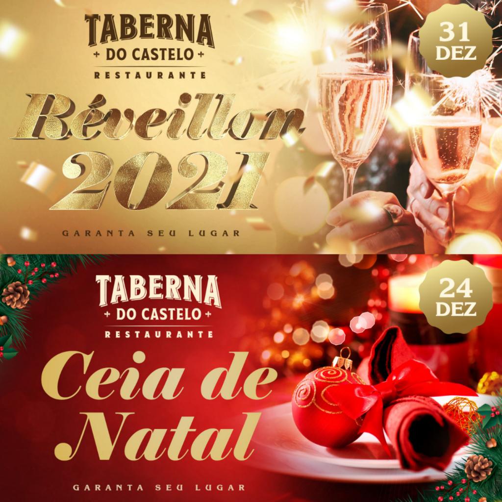 Ceia de Natal e Réveillon no Castelo de Itaipava: faça a sua reserva!