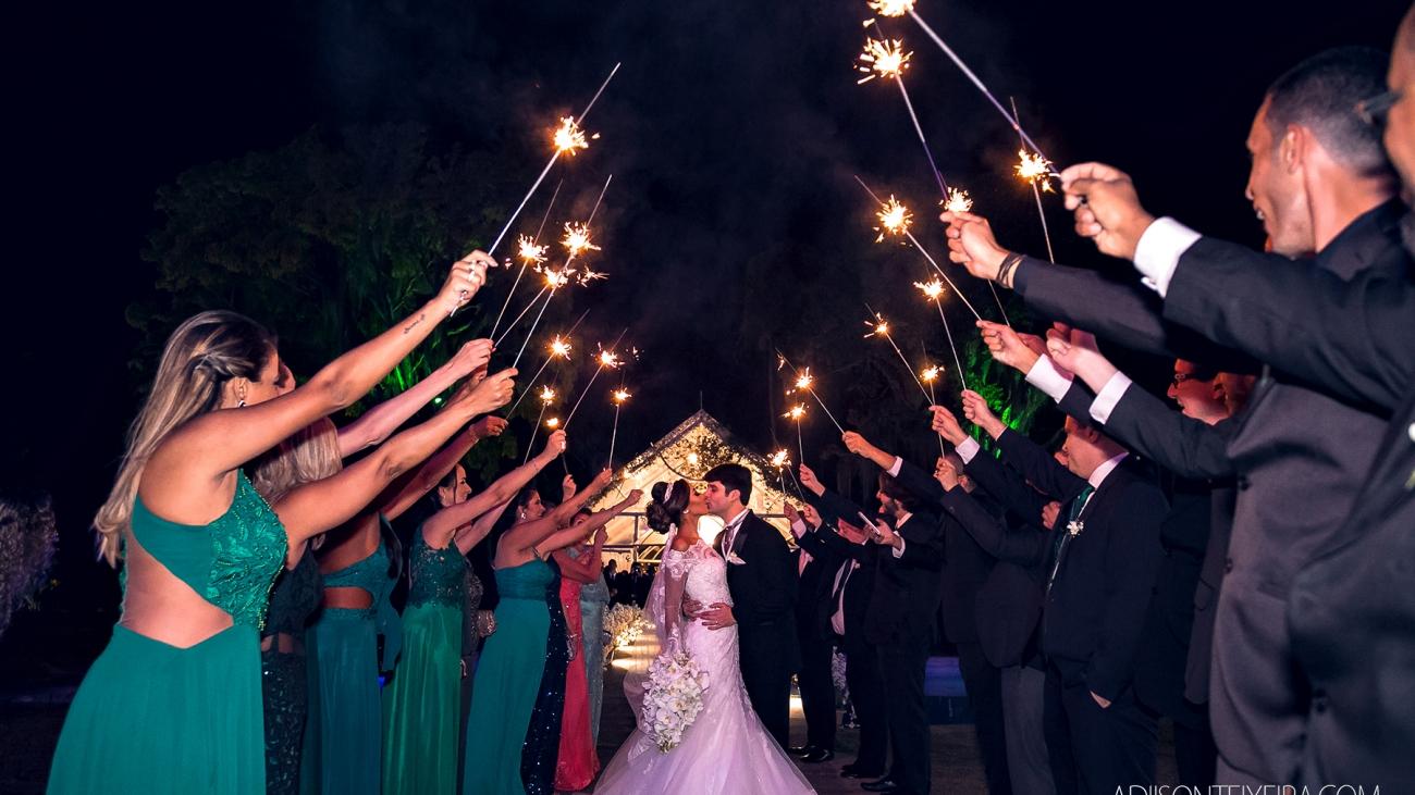 Casamento de dia x casamento à noite: saiba as vantagens e desvantagens