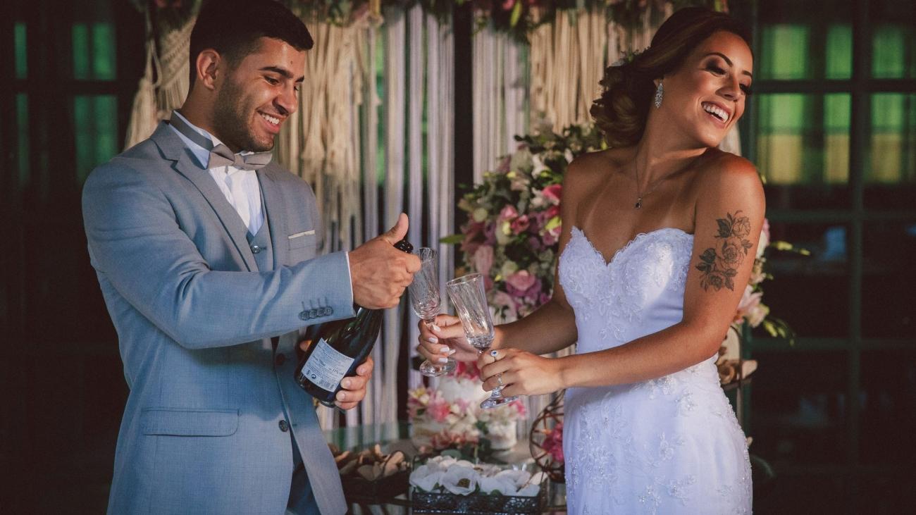 Casamento no Campo: casamento pé na grama com a experiência do Castelo de Itaipava